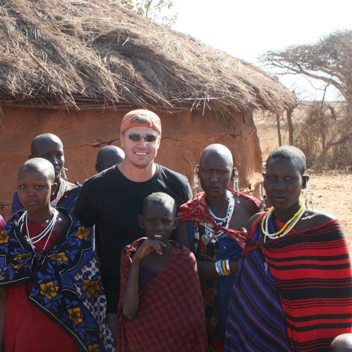Doug Pitt in Africa