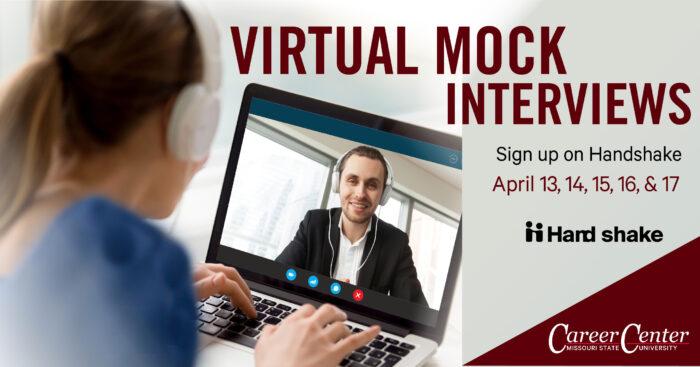 Virtual mock interview