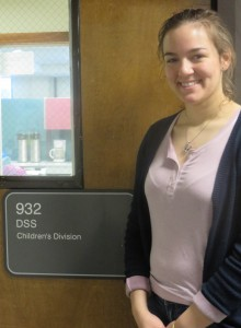 Rachel at the CD office in downtown Springfield.