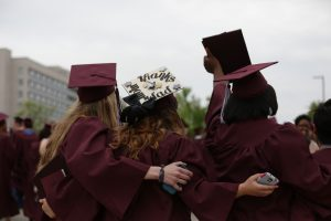 Missouri State graduates celebrate
