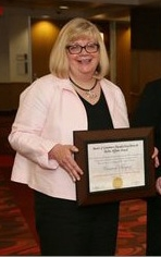 Char Berquist receives the Faculty Excellence in Public Affairs Award