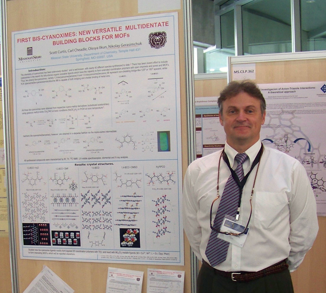 Chemistry Professor Attends International Conference in Valencia, Spain