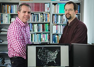 Gallaway and Mitchell, along with professor Dr. Reed Olsen, have spent six years researching the question: what really is the overall economic value of the night sky?