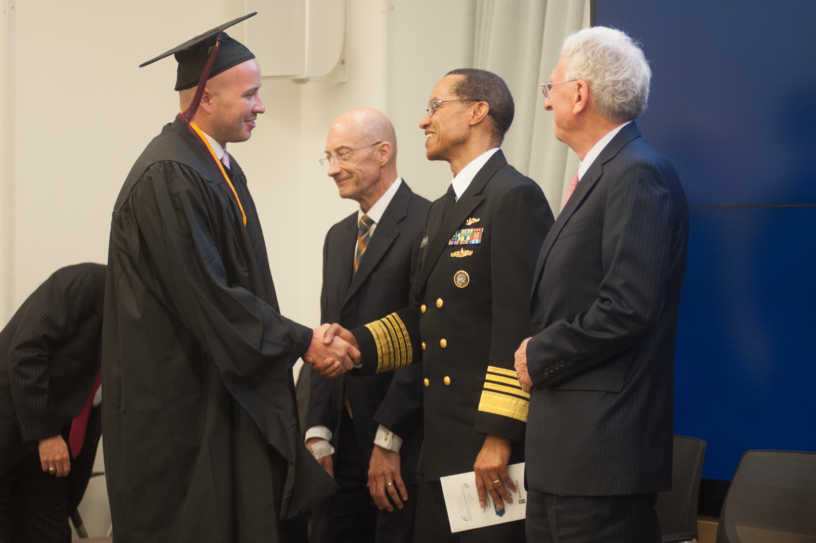 Four-star Admiral Cecil Haney Speaks at Defense and Strategic Studies Commencement