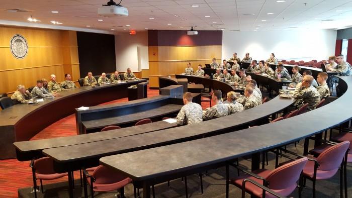 160329 Bear Battalion Alumni Leader Panel