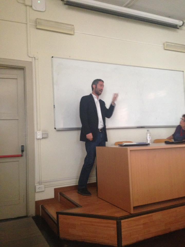 Religious Studies Assistant Professor Lectures in Rome