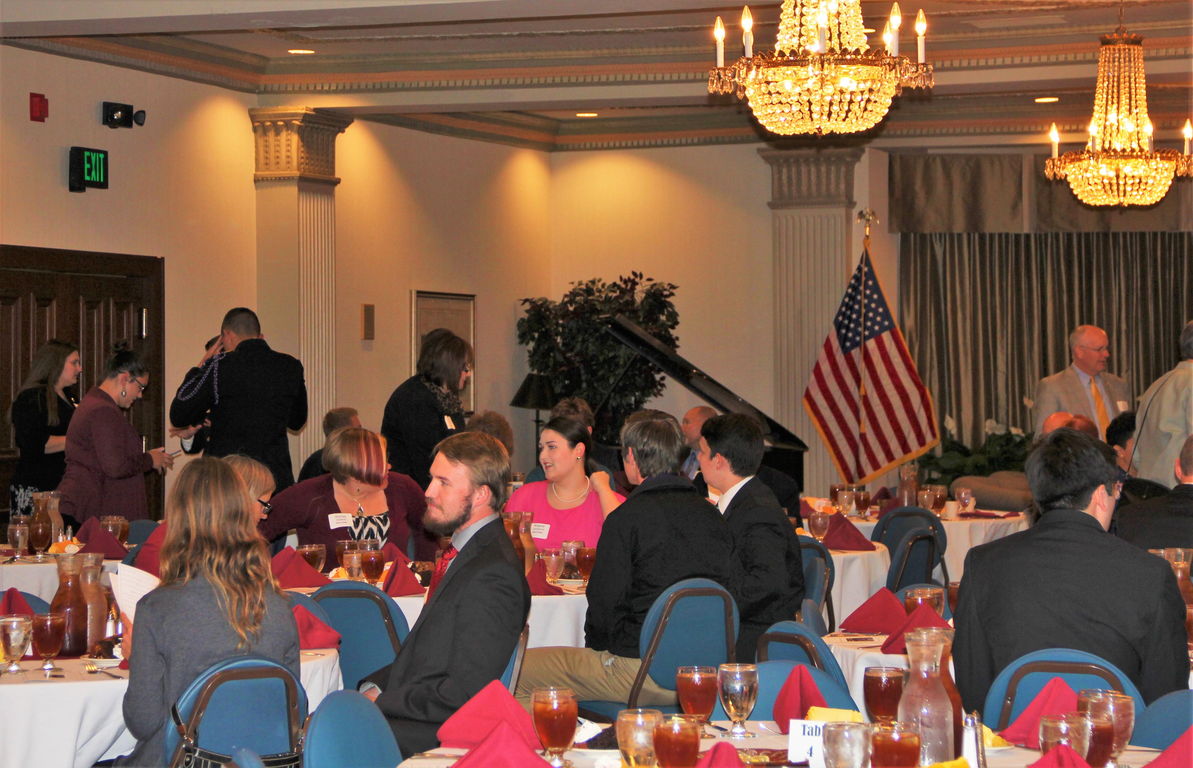 Scholarship Banquet Held