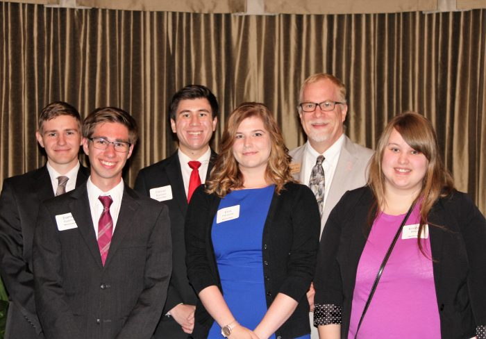 Dr. George Connor and Political Science Students