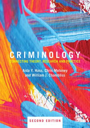 "Congratulations to Aida Hass on the publication of ""Criminology Connecting Theory, Research and Practice"""