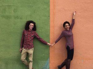 Juan Narvaez and Alana Collins