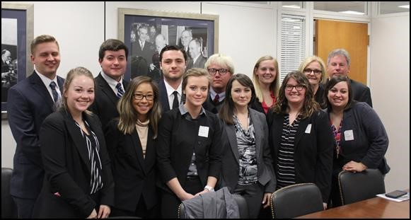 Missouri College Students Meet with McCaskill