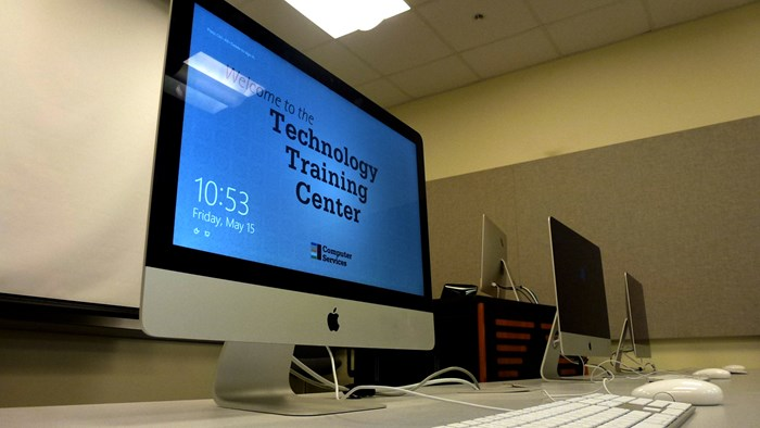 Technology Training Center Moved to Library 106