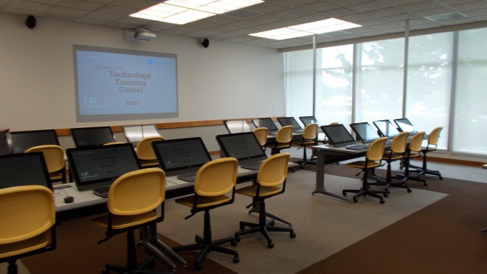 Cheek 100 Technology Training Center Moved to Library 106