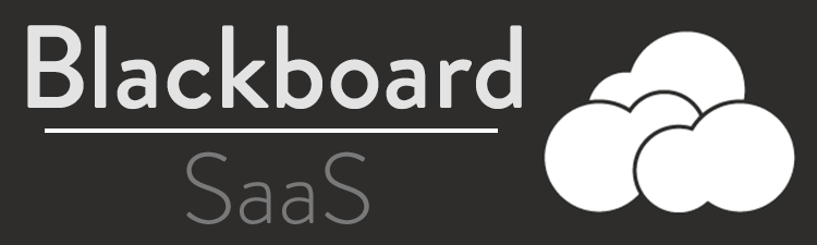 Blackboard SaaS with Cloud Image