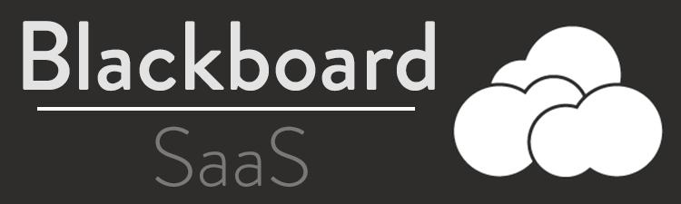 Blackboard SaaS with Cloud Image