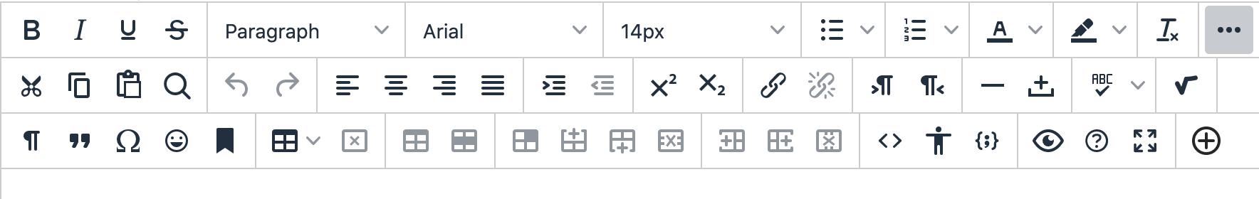 New Blackboard Content Editor