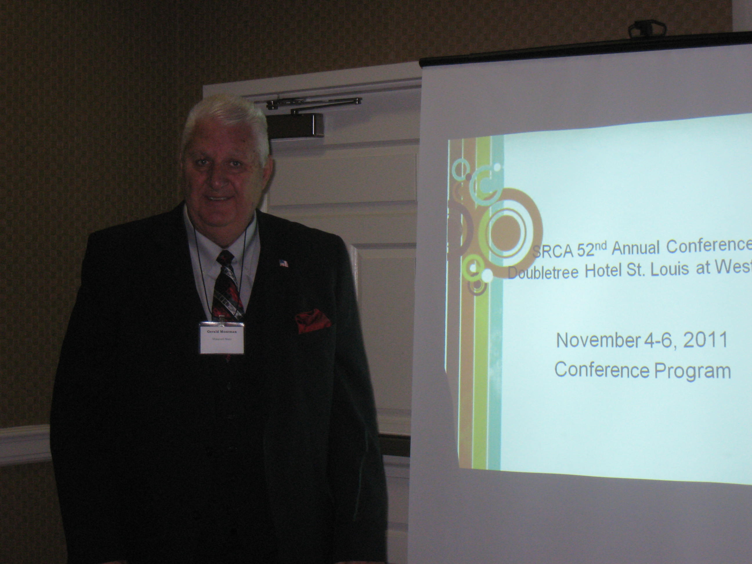 Moseman Presents at Regional Conference on Educational Administration