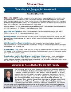 TCM Newsletter September 2013