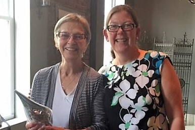 Diane May, emeritus faculty from CRPM, receives award
