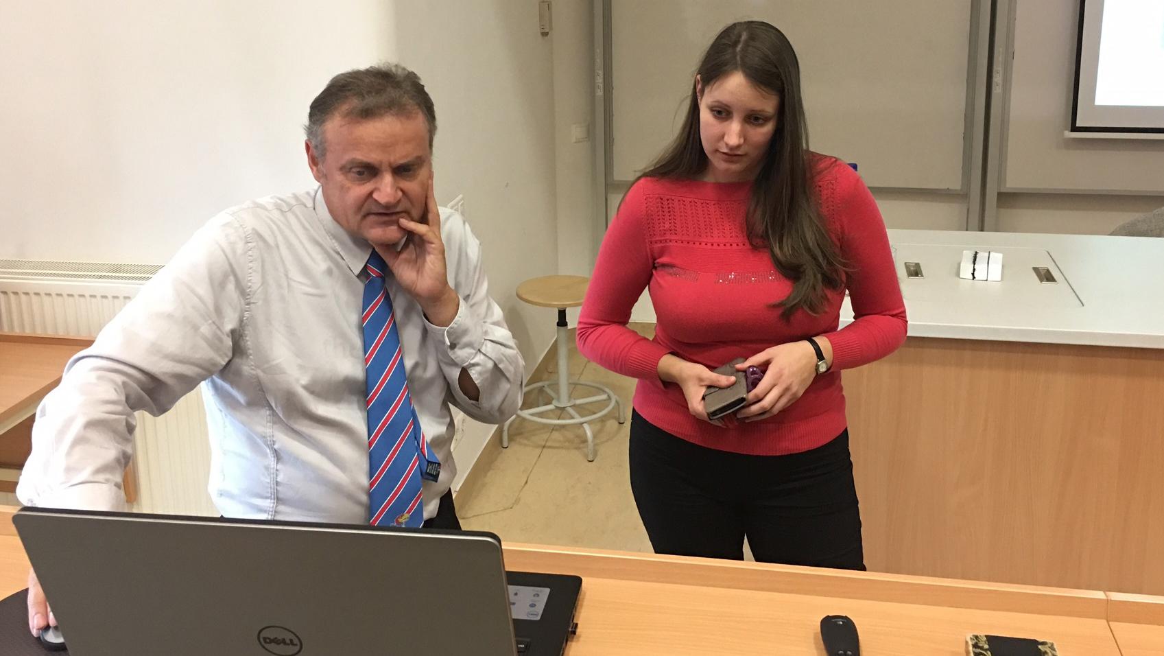 Professor collaborates, presents during sabbatical