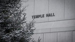 Temple Hall.