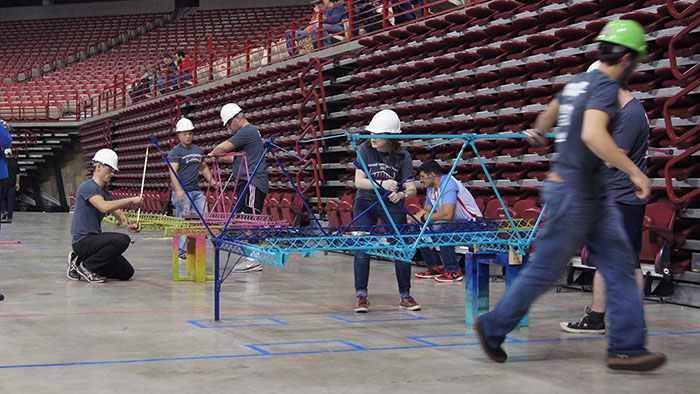 Civil engineering students compete in Arkansas
