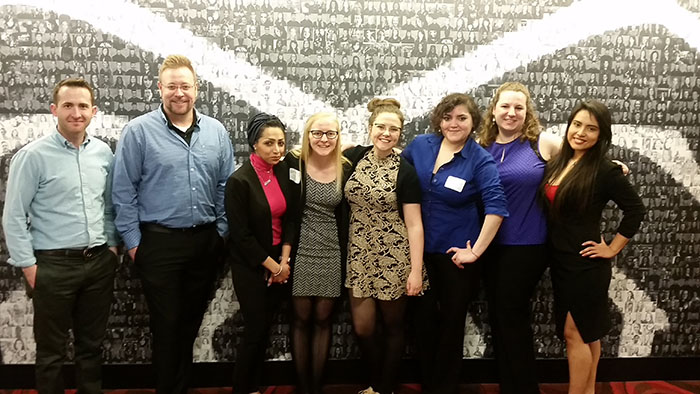 Students, faculty attend microbiology conference