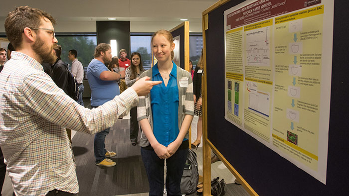 Dozens of students to present at Undergraduate Research Day