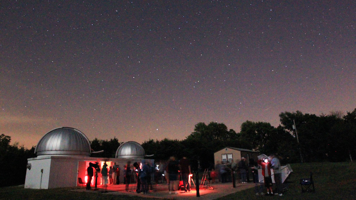 Welcome to Campus, Astronomy Lovers!