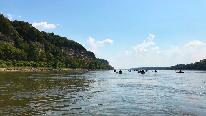 Paddle MO trip, kayaking