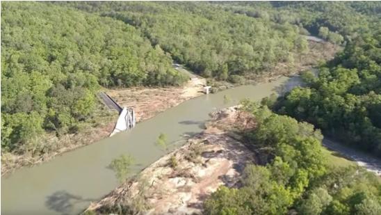 River flooded