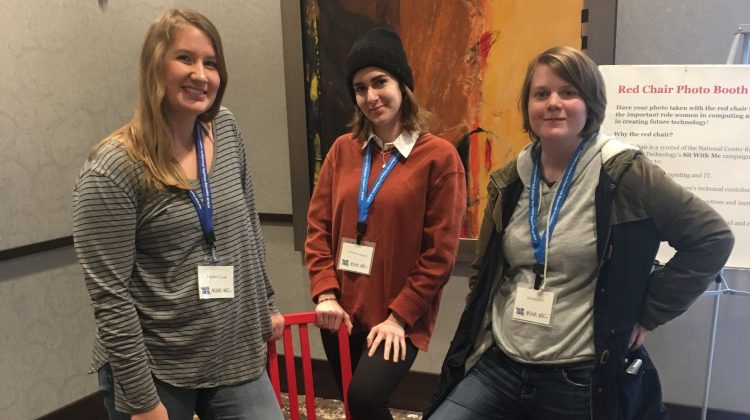 Students attend Women in Computing conference