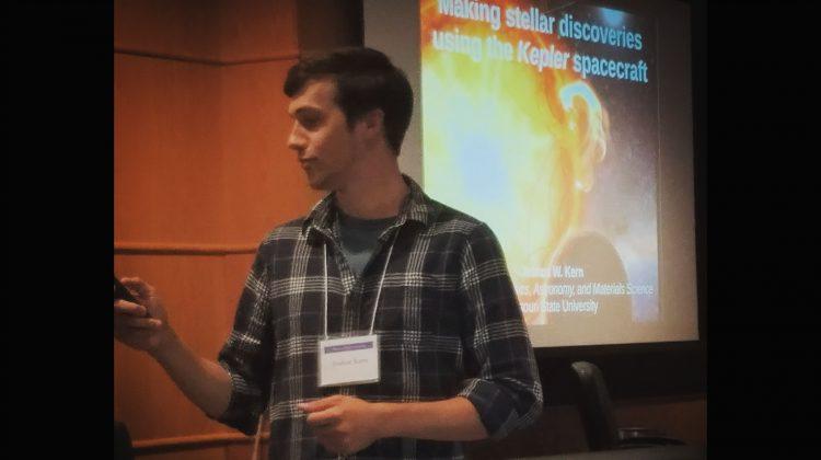 Josh Kern presenting