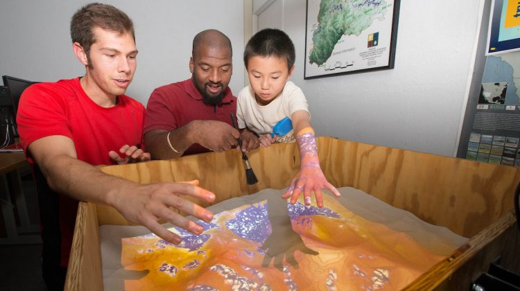 Learning in an augmented sandbox