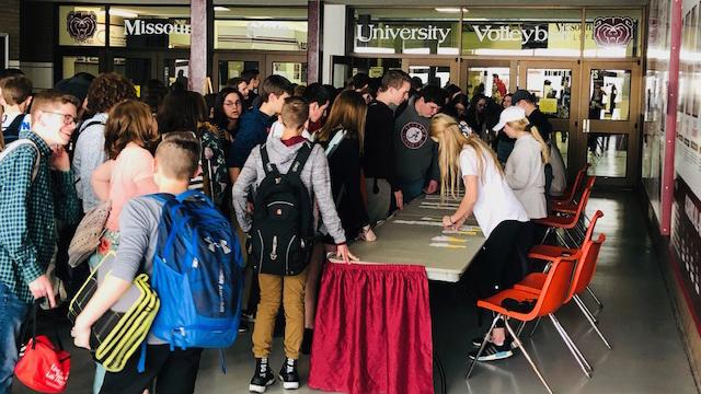 Students at OSEF