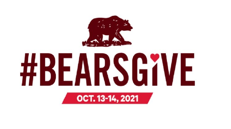 A flyer for the #BearsGive campaign.