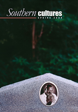 """Sonnyboy's Grave, MS"" by Bruce West as it appears on the cover of Southern Cultures volume 15 issue 1, Spring 2009."