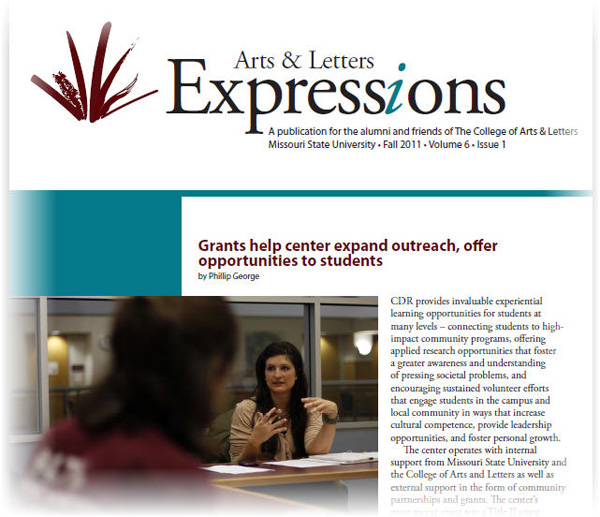 Fall 2011 edition of Expressions available online