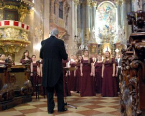 Concert Chorale at St. Peters Church, Vienna