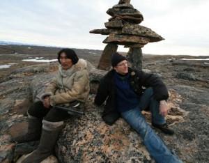 Benoit Pilon and Natar Ungalaaq