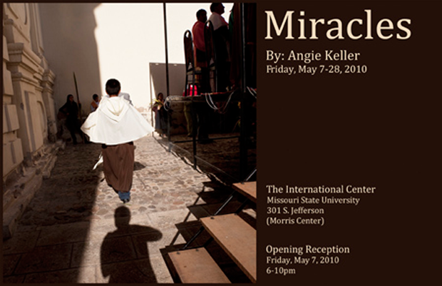 """Spanish instructor to premiere """"Miracles"""" photographic exhibition May 7-28"""