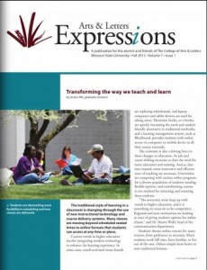 Arts & Letters Expressions - Vol. 7, Issue 1