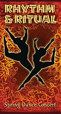 "Department of Theatre and Dance presents Spring Dance Concert ""Rhythm & Ritual"""
