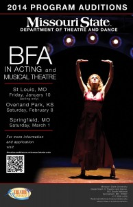 MSU BFA Program Auditions