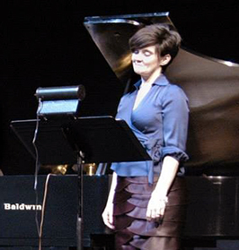 Soloist Sarah Tannehill Anderson in concert.