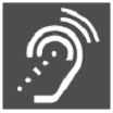 Universal Symbol for Hearing Amplification Systems