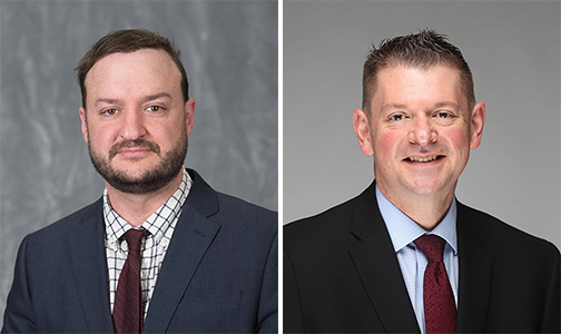 Photos of Dr. Simmons and Dr. Wahl