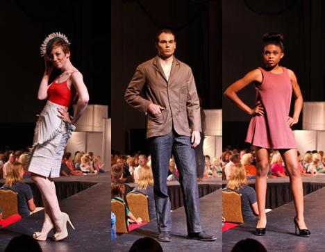Attend the Annual Spring Fashion Show Sponsored by the Fashion & Interior Design Department
