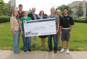marketing club check to convoy of hope sp13