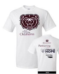 Marketing club and marketing department make an impact for Shirt printing springfield mo